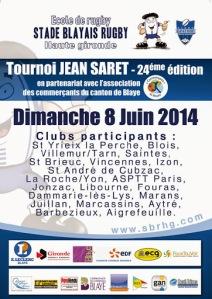 Chaque année, les Poussins et Mini Poussins participent au Tournoi de Blaye en Gironde.