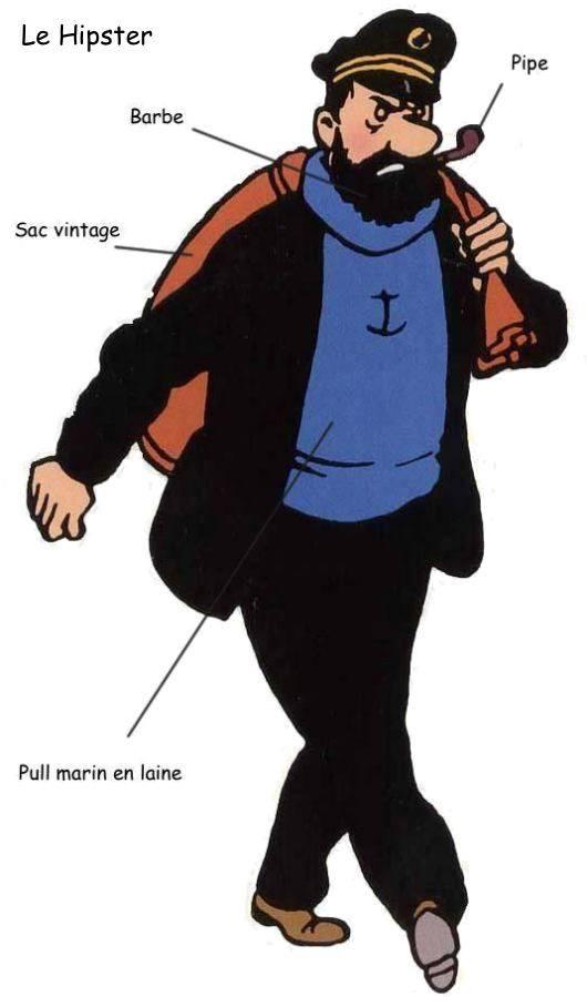 Tintin, Haddock, Tournesol et la