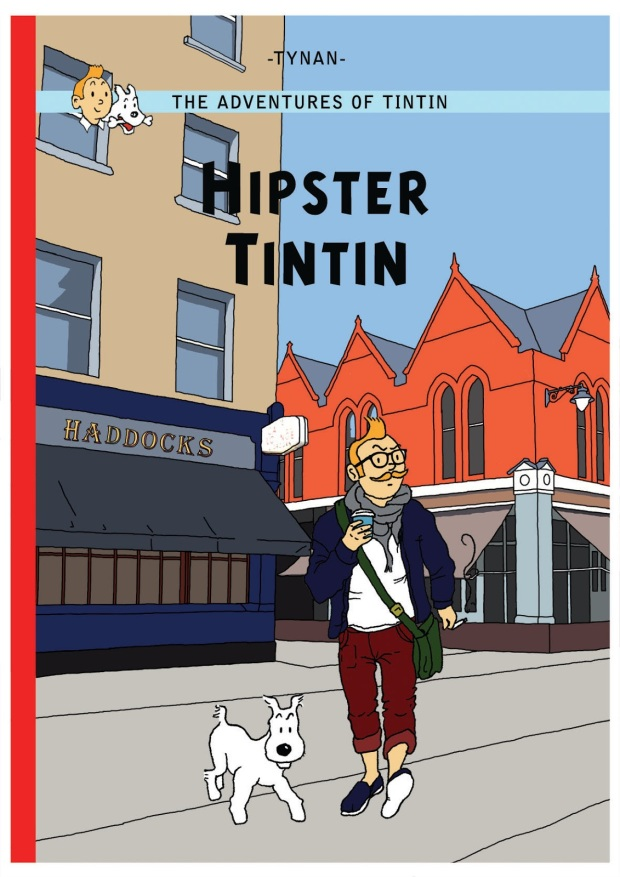 Hipster Tintin 3