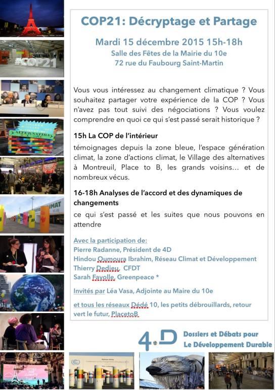 COP21 Lea Vasa