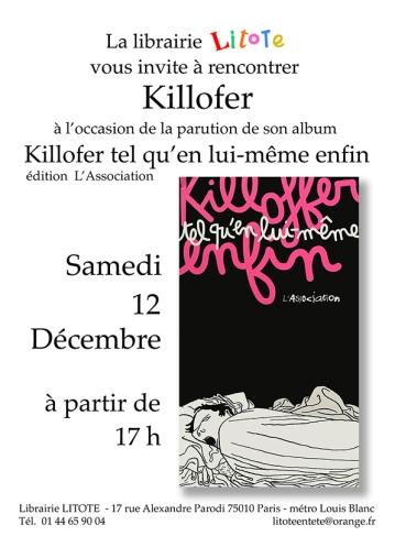 Killofer samedi 13 décembre