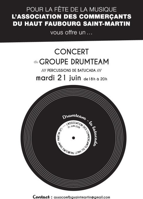 Drumteam Fête Musique